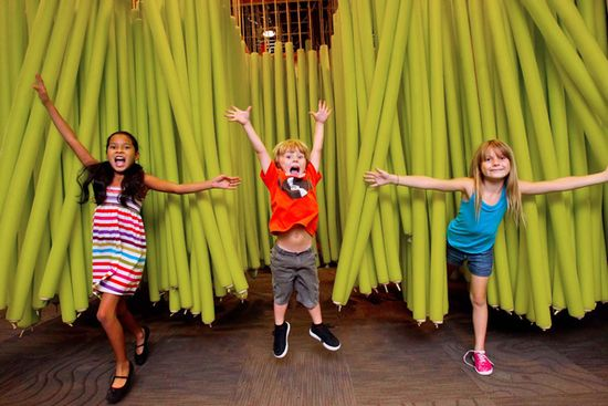 Children's Museum of Phoenix is a great place to visit, with interactive exhibits that are designed for children up to the age of 10.