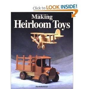 Heirloom Wood Toys Book