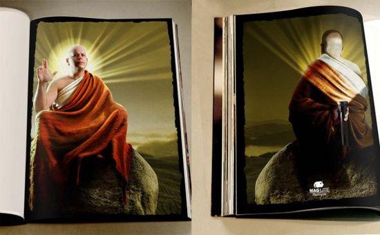Mag-Lite: #Buddha #print