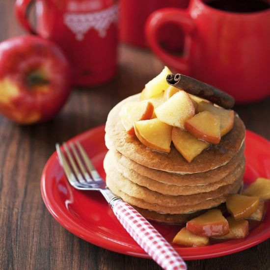 One of Miss Universe 2013's favorite foods is pancakes with either peanut butter or fruit and cinnamon on top.