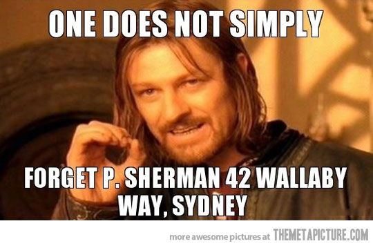 Lord of the Rings and Finding Nemo :-)