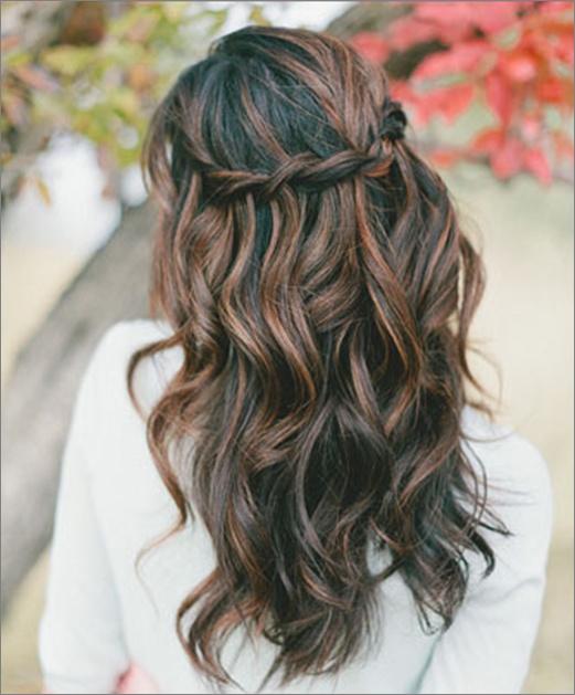 Beautiful long hairstyle