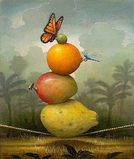 """""""Tropical Circus"""" by Kevin Sloan"""
