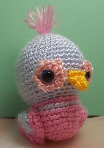 Dudley Bird free amigurumi crochet pattern