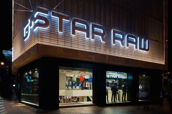 G Star RAW flagship store, Hong Kong