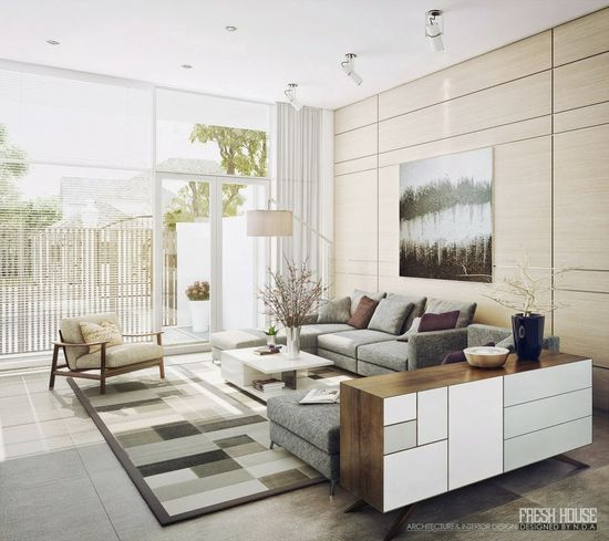 16 Amazing Contemporary Living Room Design Ideas