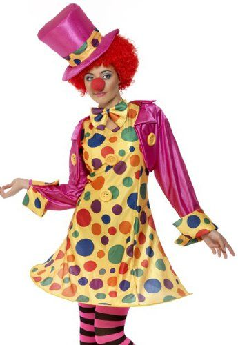 Smiffys Womens Circus Party Clown Plus Size Halloween « Clothing Impulse