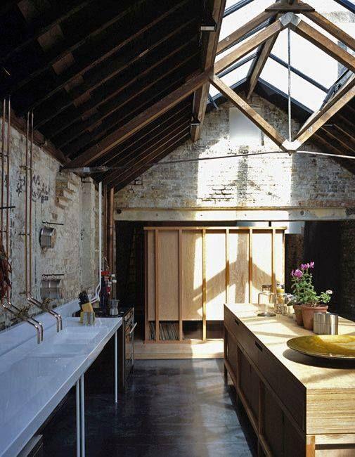 #copper #taps KITCHEN #interior #design Jonathan Tuckey #Collage house #47parkavenue