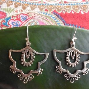 Bali Earrings « SilverBotanica – Handmade Jewelry designed by Alicia Hanson and Hi Octane Industries Inc.