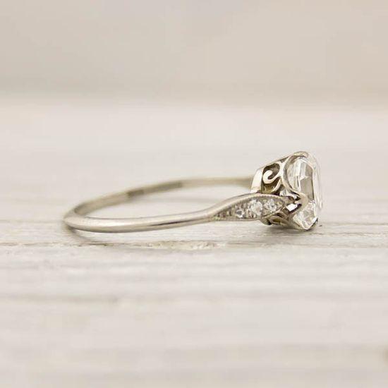 Vintage Tiffany diamond engagement ring