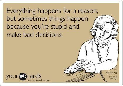 So true.  So