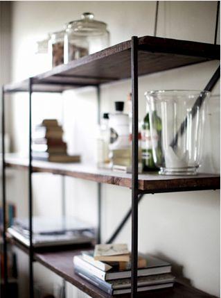 Like: simple shelves.