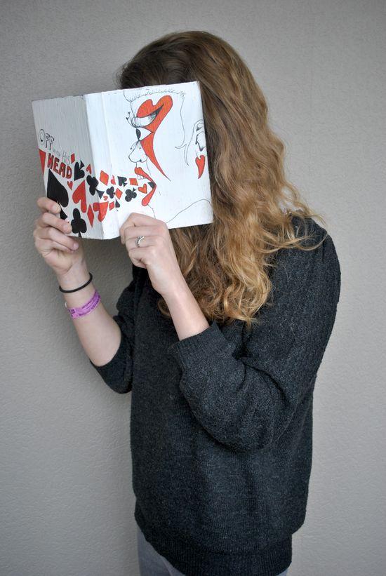 Alice in Wonderland-inspired book covers