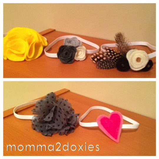 handmade headbands for infants