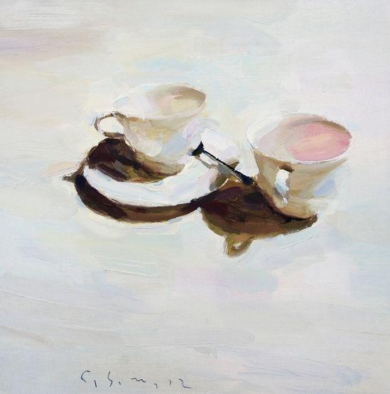 """Carlos San Millan; Oil, Painting """"N/T"""""""