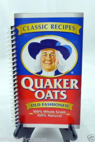 Quaker Oats Old Fashioned Baking Recipes Cook Book Cold Weather -- Heart healthy! FREE SHIPPING! Bling Blinky of TEXAS