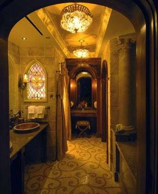 Cinderella's Castle suite bathroom