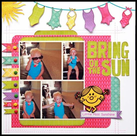Bring on the Sun - Scrapbook.com