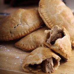Turkey handheld savory pies