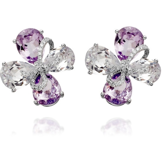 Kiki McDonough Flower Earrings