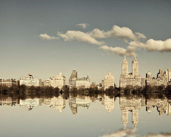 Manhattan Mirror by IrenaS, via Flickr