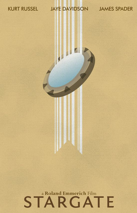 Stargate minimalist movie poster