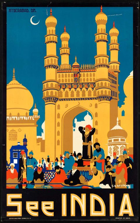 One of my BIGGEST LOVES ever: INDIA (Jan2012, I will never forget you!)    #tourism poster