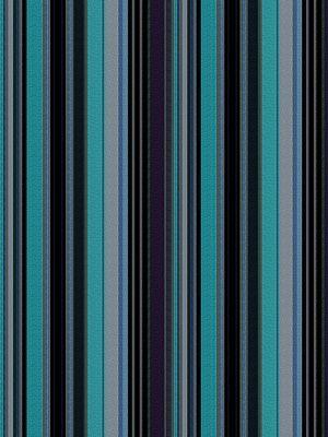 S. Harris Delicious Stripe-Blueberry Pie $144.25 per yard #interiors #decor #stripedfabric #isaacmizrahi