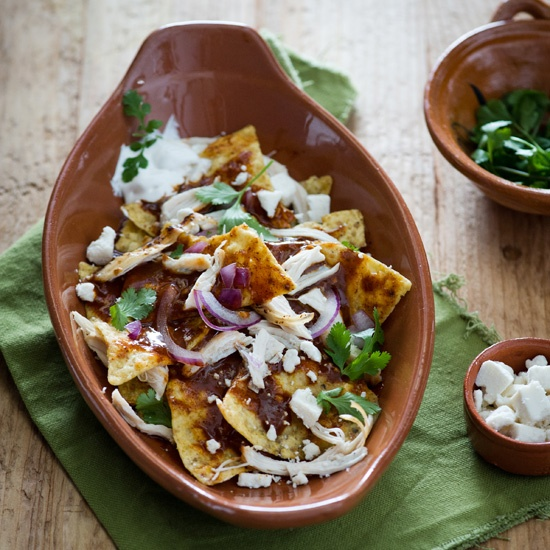 Chickene Chilaquiles // More Quick Chicken Recipes: www.foodandwine.c... #foodandwine