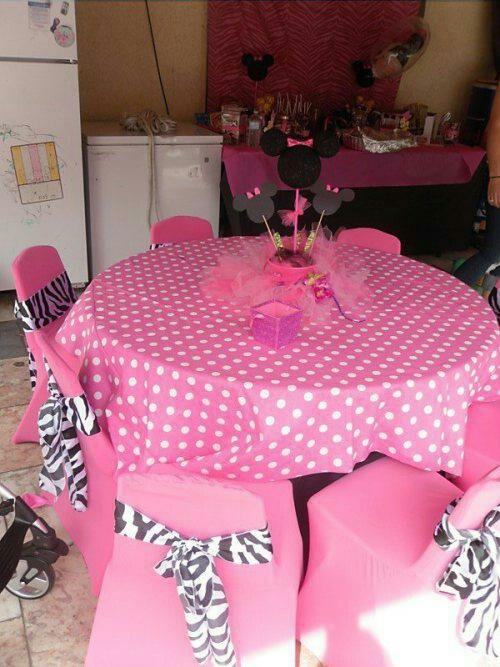 Minnie Mouse party idea