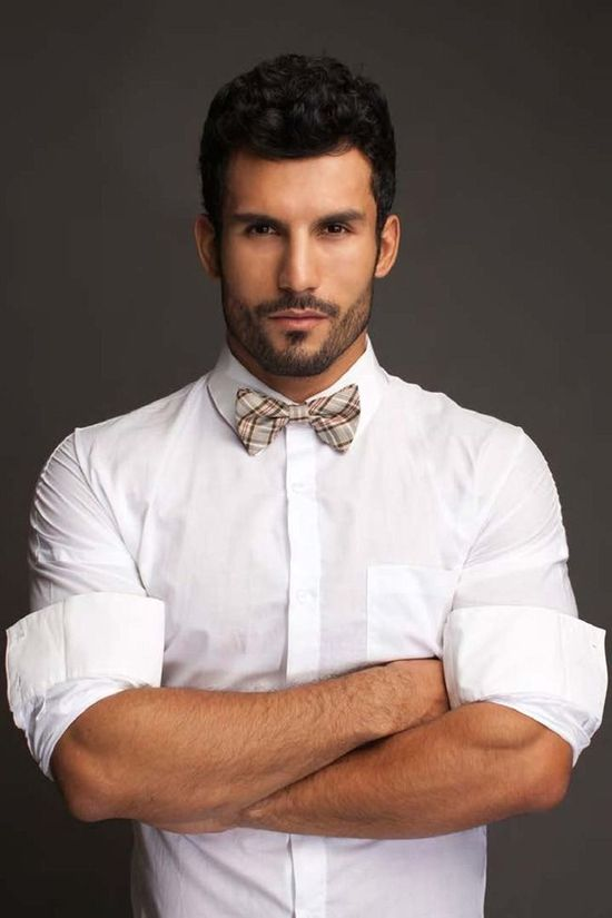 simple and bow tie