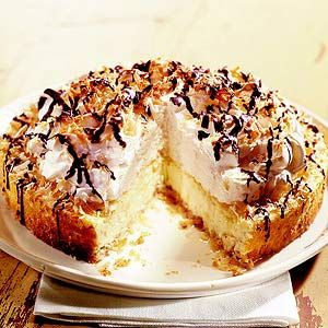 Coconut-Macaroon Cheesecake:   Cheesecake