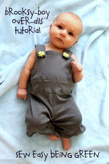 Baby knit overalls tute