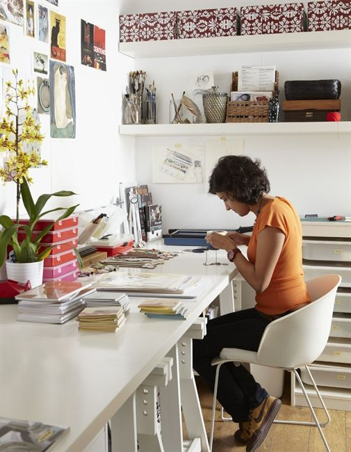 Office and Creative workspace #webdesign #creative #workspace #office #design #designer