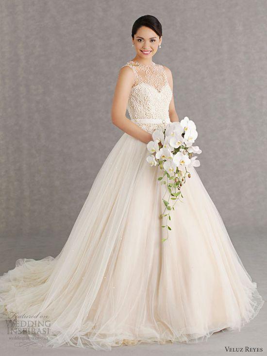 Veluz Reyes Wedding Dresses 2013