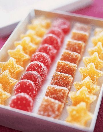Home made jellied candies