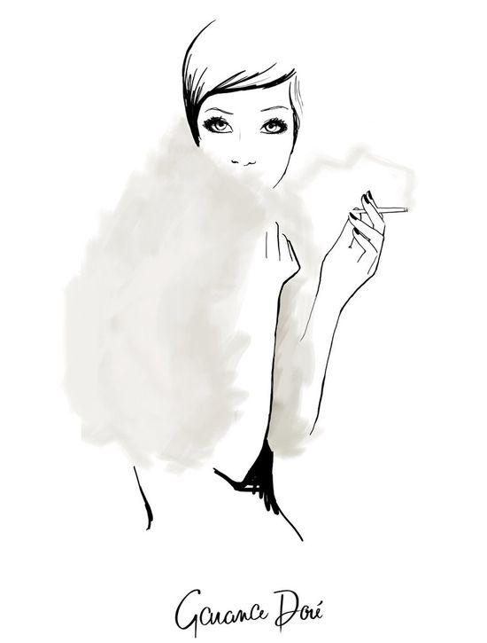 The Last Smoke by Garance Dore