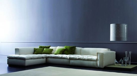 Modern Living Room Design Wallpaper