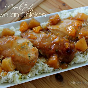 {Crock Pot} Hawaiian Chicken