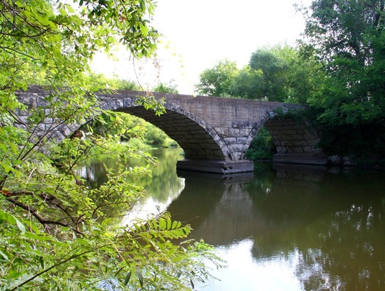 Rock Creek Bridge, Cowley County.