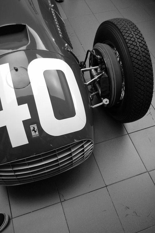 Ferrari classic race car