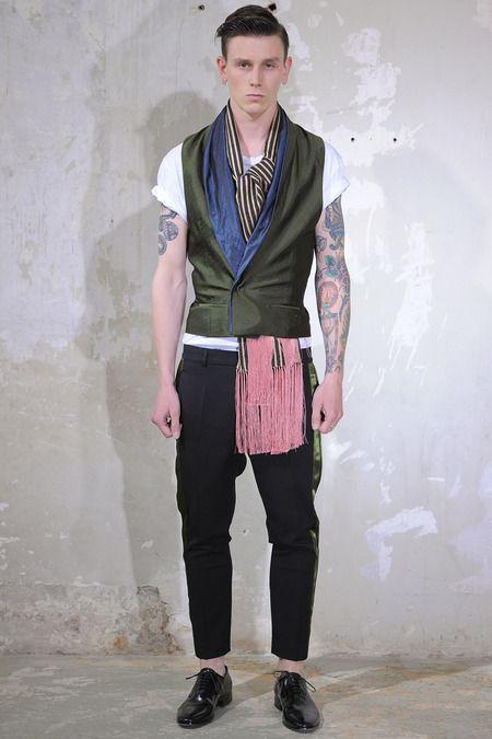 Paris Fashion Week (Menswear): Haider Ackermann - Spring 2014
