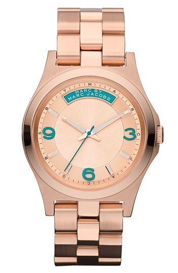 MARC BY MARC JACOBS 'Baby Dave' Bracelet Watch