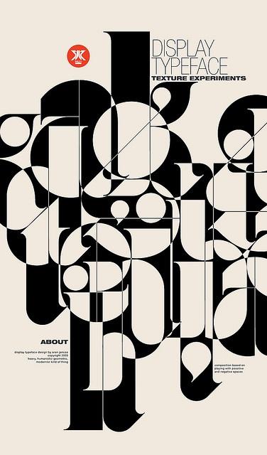 Ogaki type, display typeface design by Aron Jancso www.flickr.com/... milen.prosite.com... #typography #design #fonts