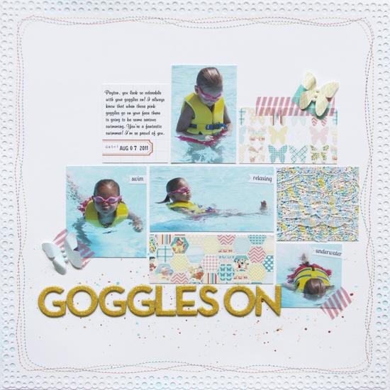 Goggles On *Pretty Little Studio* - Scrapbook.com