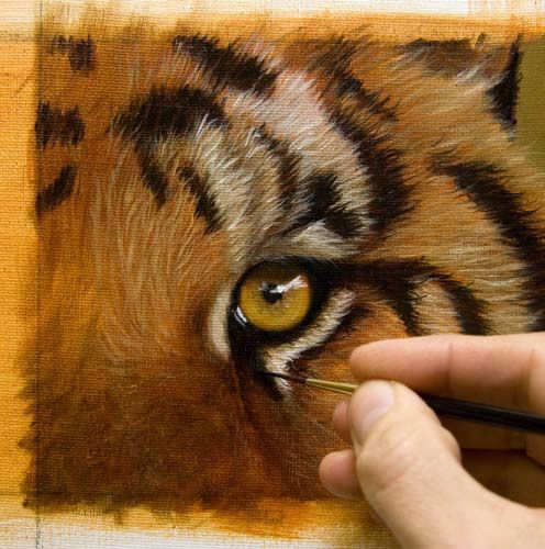 How to Paint Fur -