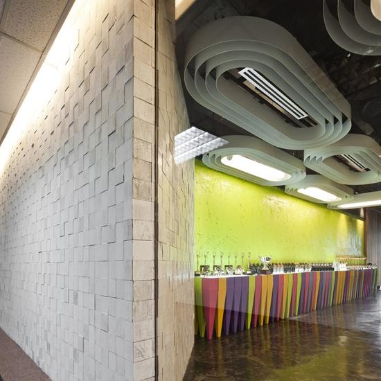 Saatchi & Saatchi Thailand's office, designed by Supermachine Studio
