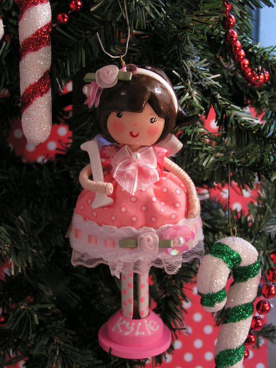 Baby girl's 1st christmas ornament collectable