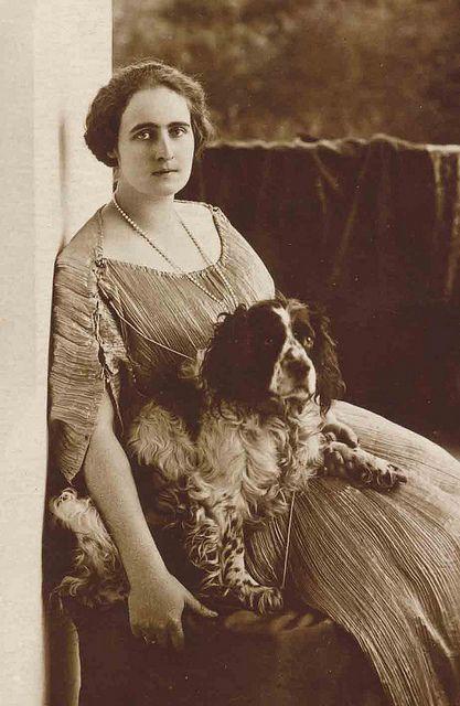 Princess Elizabeth of Romania by Libby Hall Dog Photo