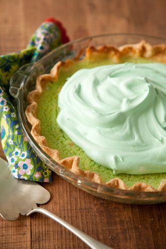 Paula Deen Green Grits Pie